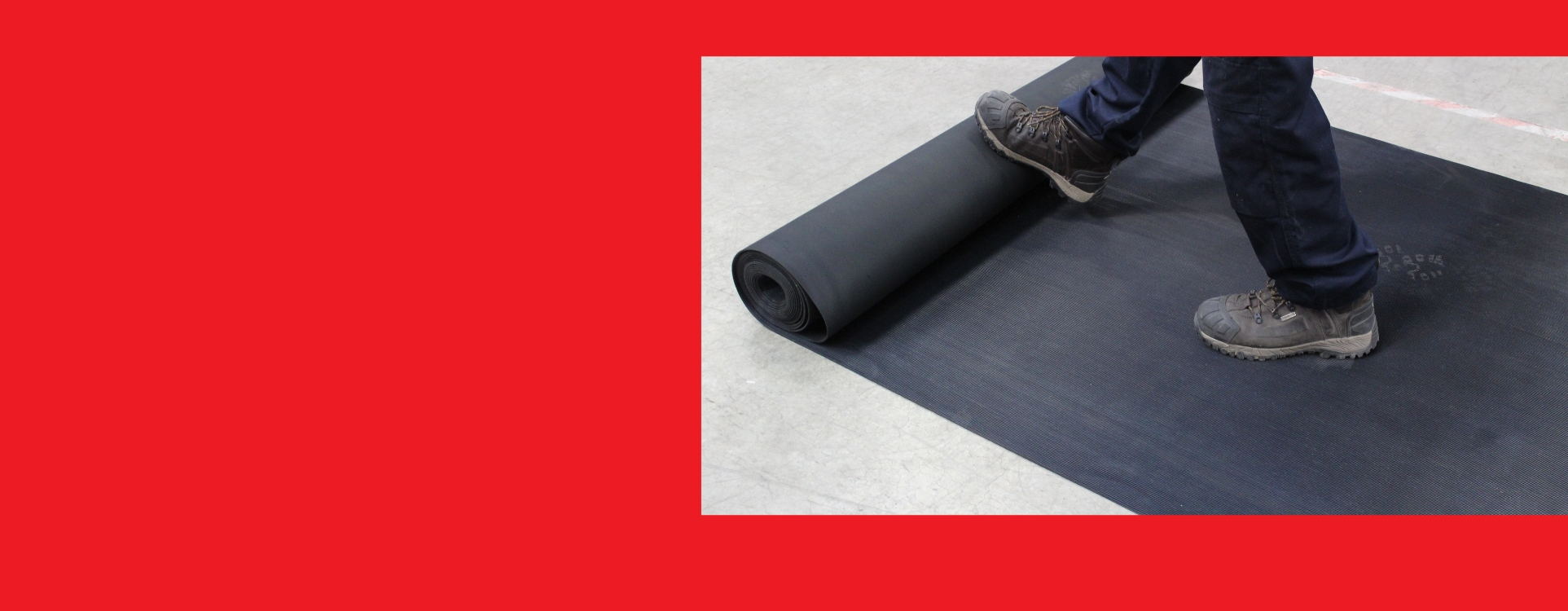 NEW PRODUCT -       ANTI-SLIP WALKWAY MATTING