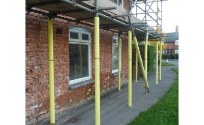 Scaffold & Brick Protection