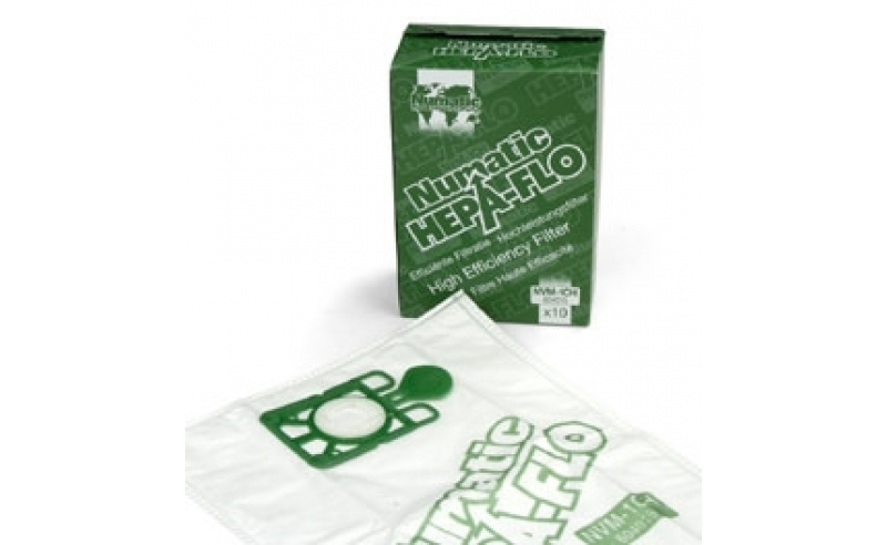 Numatic Hepa-Flo Vacuum Bags (Pack of 10)