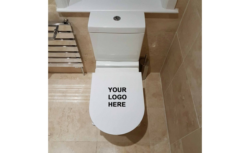 Custom Printed Bathroom Protection