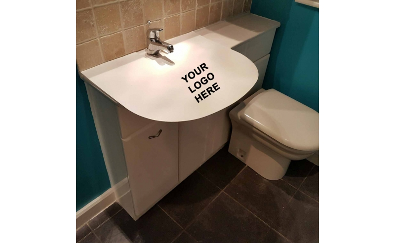 Custom Printed Bathroom Protection4