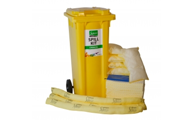Chemical Spill Kit - 2 Wheeled Bin
