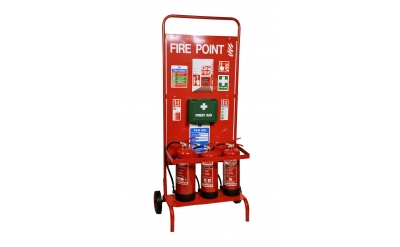 FIRE POINT STAND - WHEELED