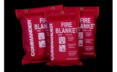 Fire Blanket - Commander Softpack
