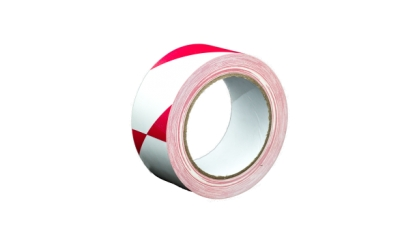 Proguard Hazard Warning Tape Red/White