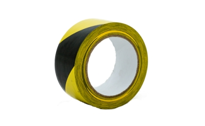 Proguard Hazard Warning Tape Black/Yellow