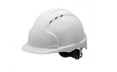JSP EVO3 Comfort Plus Safety Helmet White