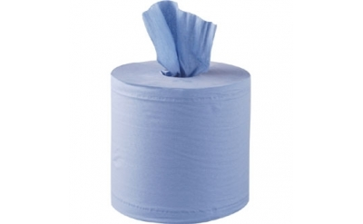 Blue Centre Feed Rolls (Pack of 6)