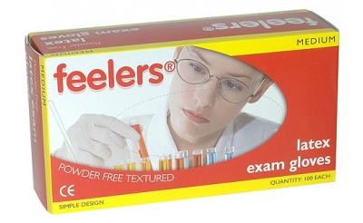 Latex Powder Free Gloves (box of 100)
