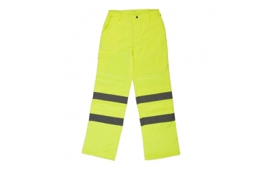 Heavyweight Hi-Vis Polycotton Trousers
