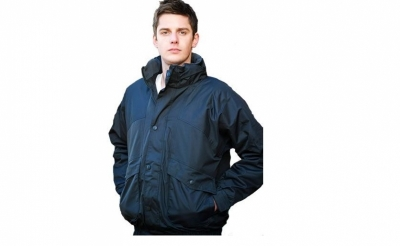 Heavyweight bomber jacket