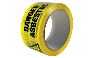 Asbestos Danger Warning Tape