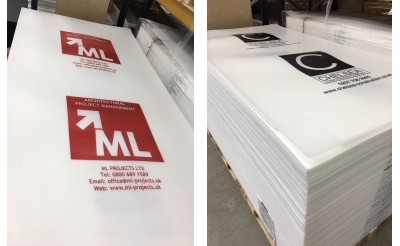 Custom Printed Correx® Board