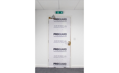 DOORGUARD FLAME RETARDANT DOOR PROTECTOR