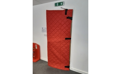 QUILTED DOOR COVER