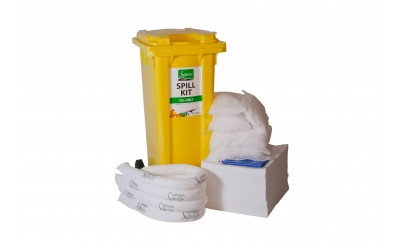Oil Spill Kit - Wheeled Bin