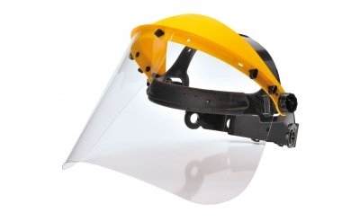 Face Shield Browguard With Clear Visor
